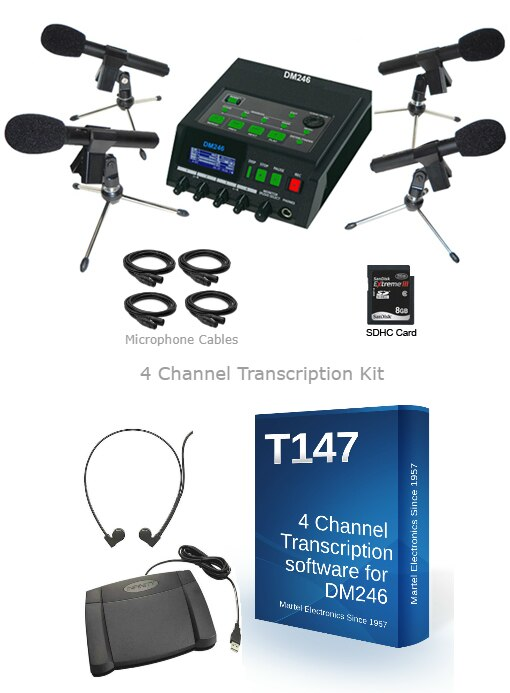 Courtroom recording equipment system